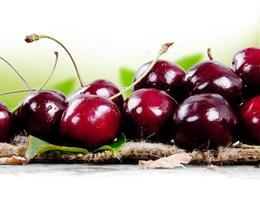 fruta de cereza foto
