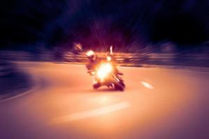 Motorcycling photo