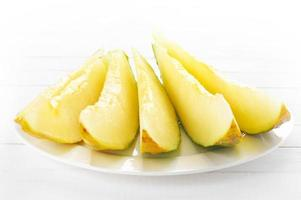 Santa Claus melon photo