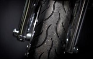 Motorcycle tire photo