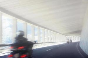 conducción de motocicletas foto