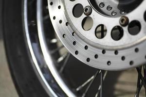 disco de freio da motocicleta