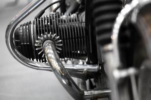 Motorcycle engine photo