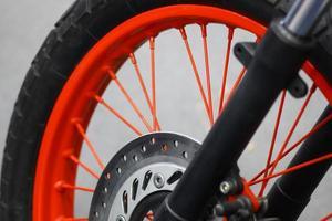 motorfiets remschijf