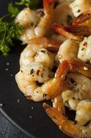 Homemade Sauteed Shrimp with Herbs