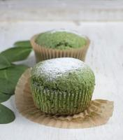 spinach muffins . photo