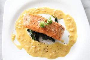 baked salmon photo