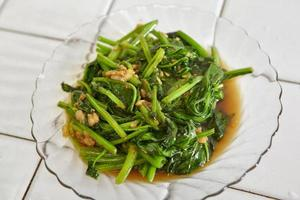 Sauted Japanese spinach
