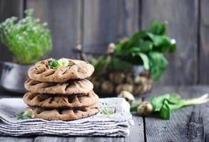 galette de trigo integral foto