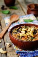 cashew butter spinach and red bean stew photo