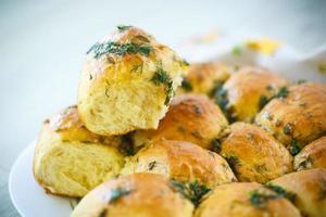garlic rolls photo