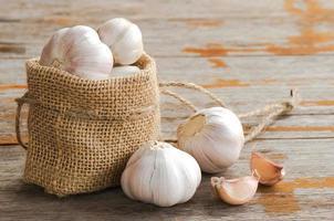 Garlic for healthy photo