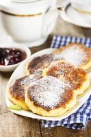 Cottage cheese pancakes photo