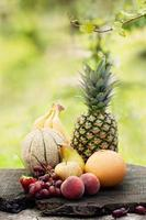 variedad de fruta foto
