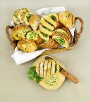 Garlic And Herb Bread photo
