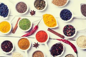 Spices and herbs photo