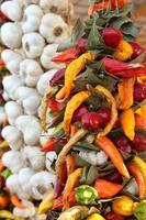 Chili and garlic braids photo