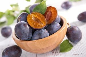 fresh plum photo
