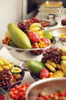 mixed fruit buffet