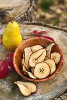 Dried pear photo