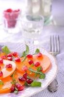 Fruit and vegetable salad photo