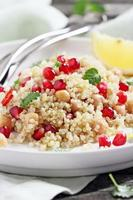 Quinoa salad with chickpea