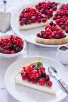 Berry tart photo