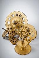 mechanical clock gears