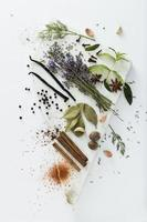 Spices background photo