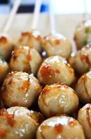 bolas de carne gril