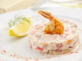 salmon tartar photo