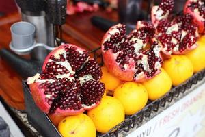 fruit stall istanbul photo