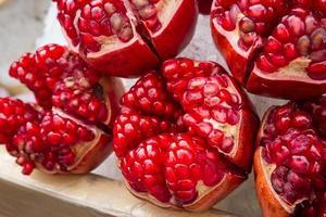 Fresh pomegranate photo