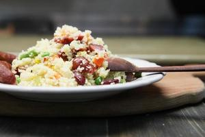 Couscous made at home