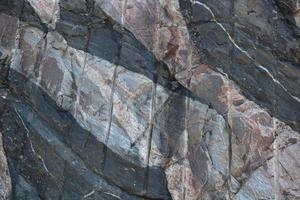 Manmade Intrusion into Rock photo