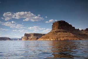 Formación de roca del lago Powell
