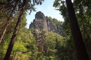 Rock Schrammsteine en Suiza sajona