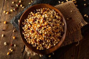 Raw Organic Multi Colored Calico Popcorn
