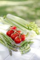 verdura de verano foto