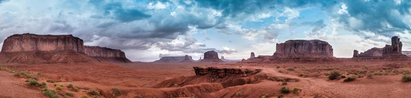 Monument Valley Panorama Skyline
