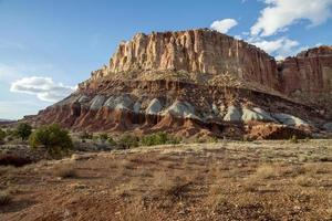 Mesa in Capitol Reef National Park photo
