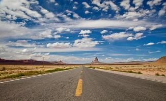 panorama da estrada do arizona