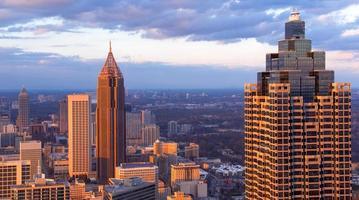 Group of building in Atlanta