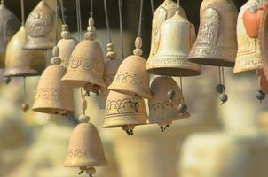 Small clay bells photo