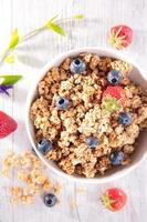 muesli with berry fruit