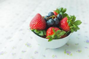 small bowl containing berries