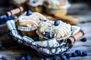 muffins de mirtilo