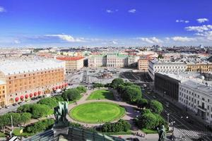 View on   of St. Petersburg city