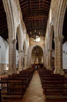 interior de la iglesia, foto