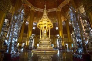 in Swel daw Buddha Pagoda, Yangon,Myanmar photo